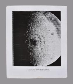 Lunar Orbiter IV. Mare Orientale and Oceanus Procellarum