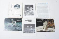 Apollo 11. Official NASA press kit and associated ephemera