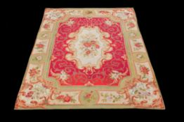 A late 19th/early 20th century Aubusson carpet