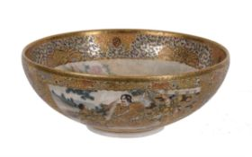 A Japanese Satsuma bowl