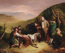 After Sir Edwin Henry Landseer, The Death of a Stag in Glen Tilt