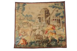 A Continental 'Teniers' tapestry