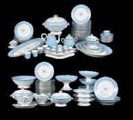 A Limoges porcelain part breakfast