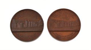 Nottingham, New Trent Bridge 1871, bronze medals (2)