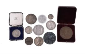 British and foreign commemorative medals, 18th to 20th century