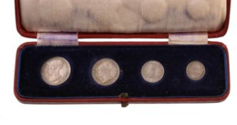 Victoria, Maundy set 1849, Maundy Penny to Fourpence