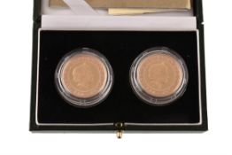 Elizabeth II, Brunel Bicentenary 2006, gold proof Two-Pounds (2)