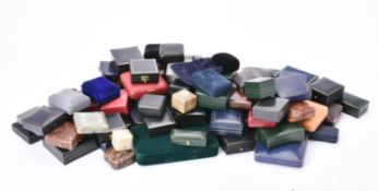 A collection of assorted jewellery boxes