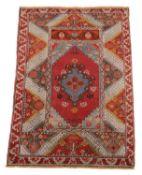 A Ghiordes rug