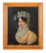 Continental School (early 20th century) , Portrait of a lady