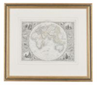 A map print of the Eastern Hemisphere