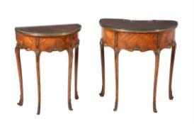 Y Y A suite of kingwood and gilt metal mounted bedroom furniture