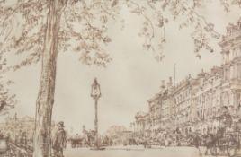 λ Sir Muirhead Bone (British 1876-1953), View of London