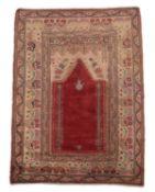 A Kayseri prayer rug