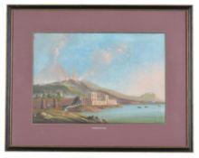 Neapolitan School (19th century) , Cenere Del 1793; Golfo Di Maja