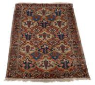 A Persian rug