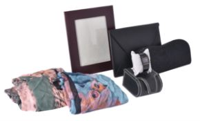 A collection of luxury items
