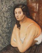 Jacques Villon, Buste de femme (after André Derain)