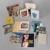 Assorted art reference books and catalogues