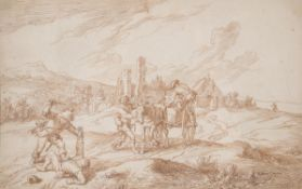Circle of Adam Frans van der Meulen (Flemish 1632-1690)