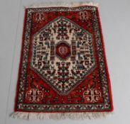 A modern Persian small rug