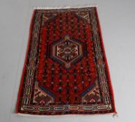 Eastern Kayam; a modern small Persian rug in the Tarabad pattern