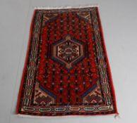 Eastern Kayam; a modern small Persian rug in the Tarabad pattern