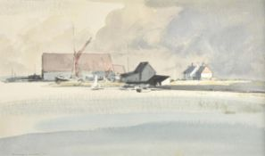 λ Rowland Hilder (British 1905-1993), Shipwrights Arms, Faversham