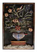 An Italian or possibly French pietra dura plaque, late 17th/18th century