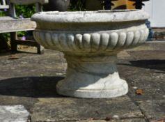 A fine Italian marmo cipollino cistern, late 17th/early 18th century