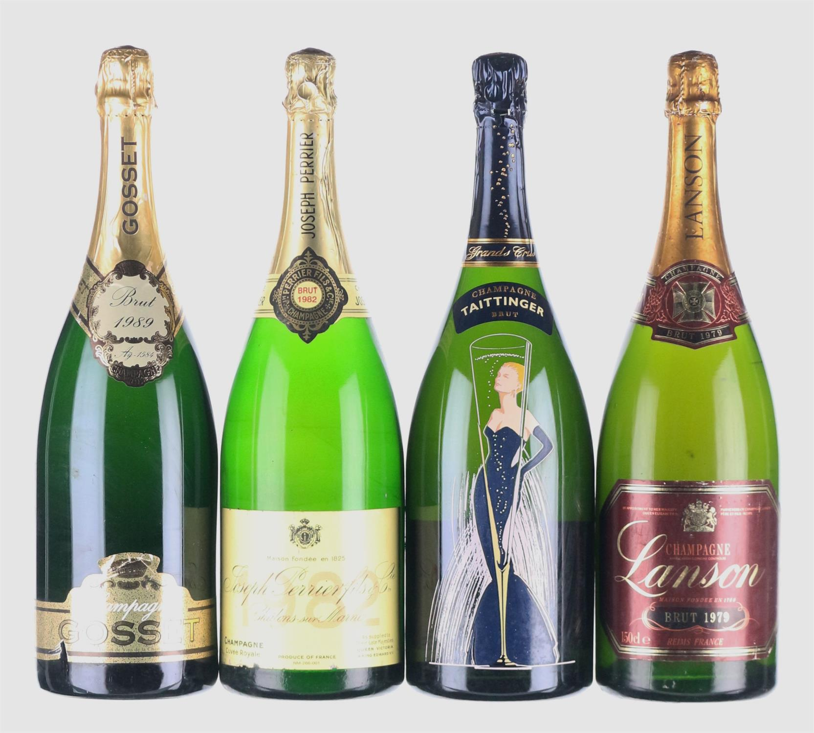Lot 27 - Mixed Vintage Champagne Magnums
