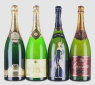 Mixed Vintage Champagne Magnums