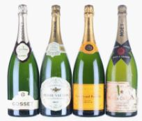 Mixed NV Champagne Magnums