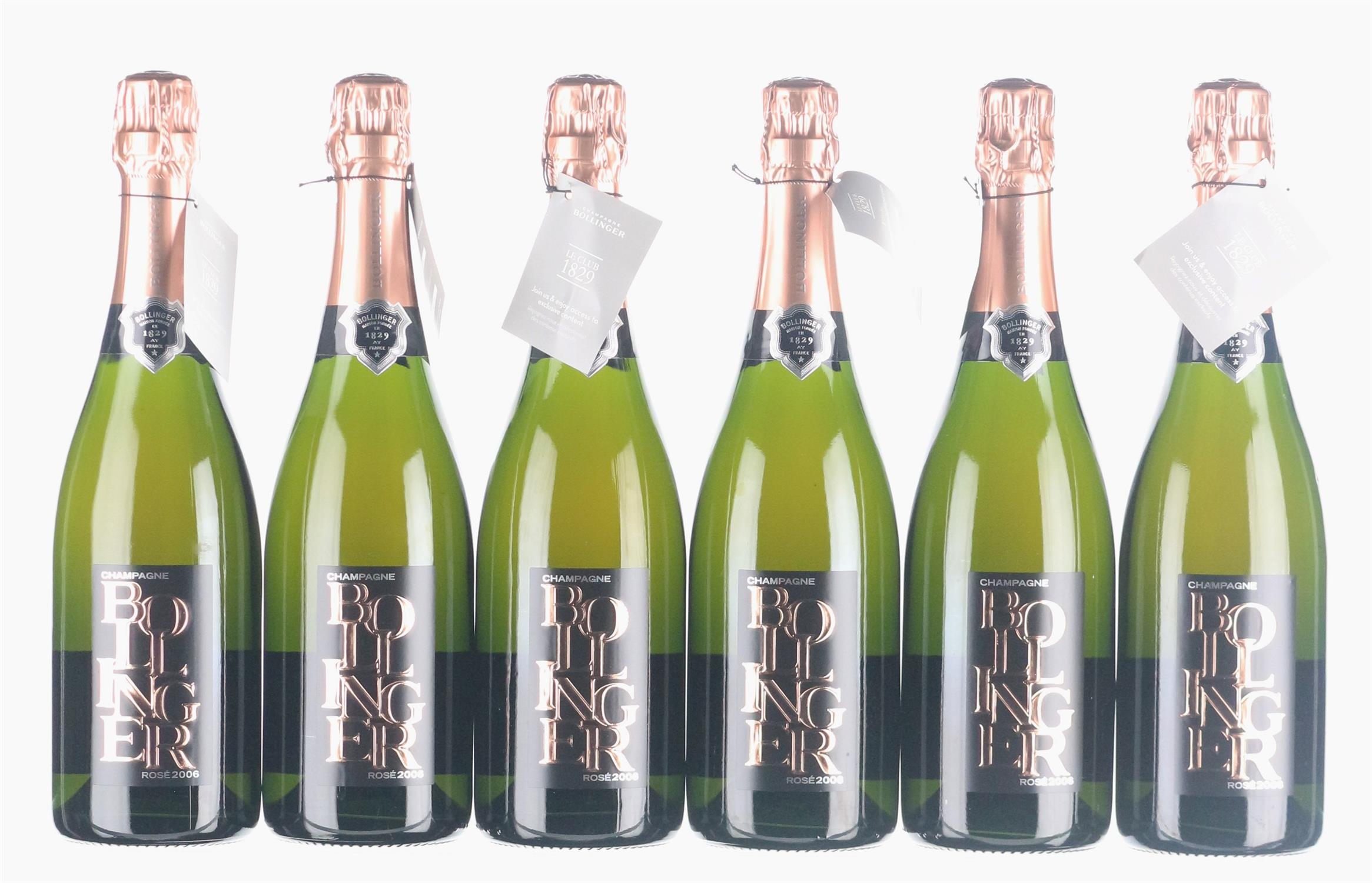 Lot 31 - 2006 Bollinger Rose Limited Edition