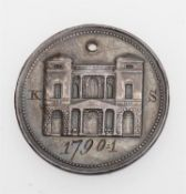 A George III theatre pass for The Pantheon Italian Opera 1790/1