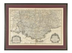 "Map- ""Provence"" after Alexis-Hubert Jaillot (1632-1712)"