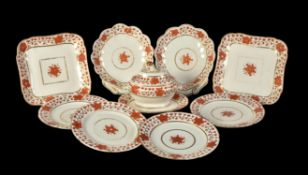 A selection of mostly Worcester porcelain