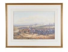 Orlando Norrie (British 1832-1901) The 2nd Batallion the 60th Rifles, the King's Royal Corps, 1862