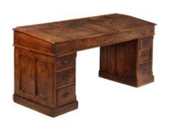 An elm 'clerk's' desk
