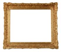 A Dutch carved giltwood picture frame