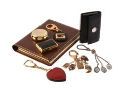 A collection of luxury accessories