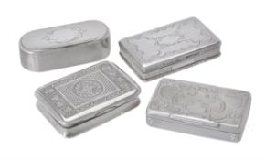An Austro-Hungarian silver oblong box