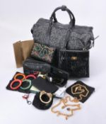 A collection of luxury goods
