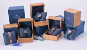 Five wristwatches by Lancaster Italy
