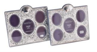 Two silver mounted photo frames by Carr's of Sheffield Ltd.