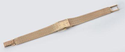 Omega, Lady's 9 carat gold bracelet watch