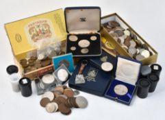 Bermuda, Proof Sets 1970 (2), First Decimal Coins