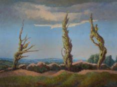 λ Walter Steggles (British 1908-1997) , The three trees