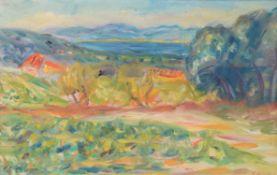 λ Charles Camoin (French 1879-1965) , Les vignes à Sainte-Anne