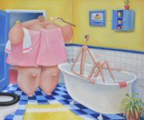 λ Sarah Jane Szikora (British b.1971), Bathtime